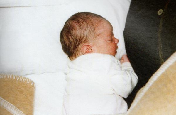 La prima nascita nel campo